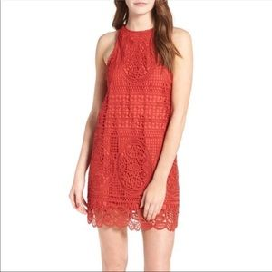 Lovers + Friends lace mini dress